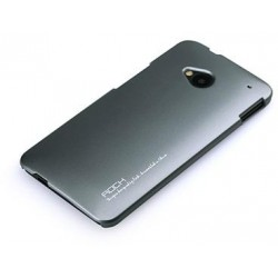Cover Rock NEW Naked serie in Policarb HtC One M7 Grigio