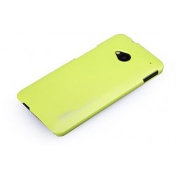 Cover Rock NEW Naked serie in Policarb HtC One M7 Giallo