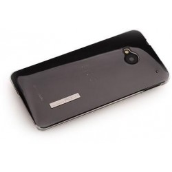 Cover Rock Ethereal shell serie Policarb HtC One M7 Nero
