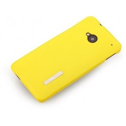 Cover Rock Ethereal shell serie Policarb HtC One M7 Giallo