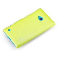 Cover Rock Naked Shell serie in Policarb Lumia 720 Giallo