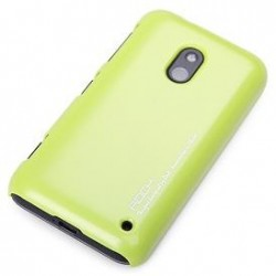 Cover Rock Naked Shell serie in Policarb Lumia 620 Giallo